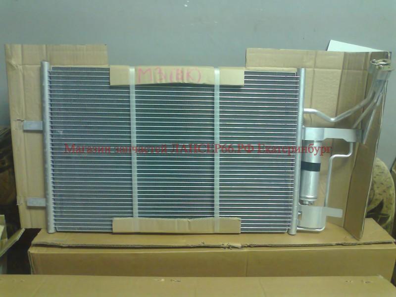 радиатор кондиционера на mazda 3